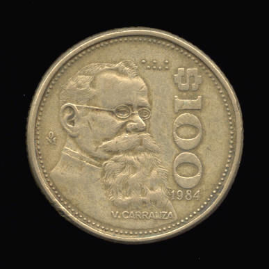 Found An Interesting Coin A 100 Peso Km 493 Friendly Metal Detecting Forums