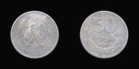 50 groszy 1949 2 рубля 2009 спмд магнитные