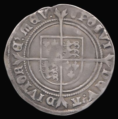 Silver Shilling of Edward VI