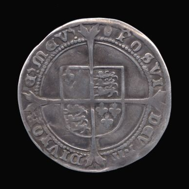 Silver Sixpence of Edward VI