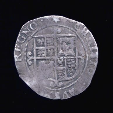 Silver Sixpence of Charles I