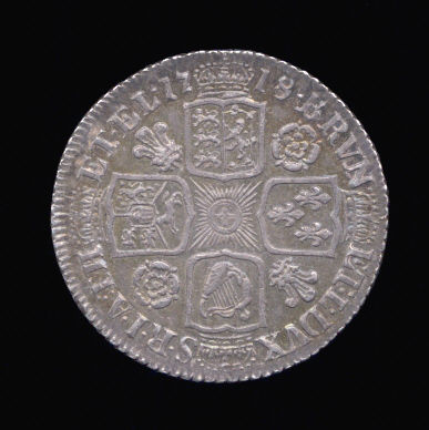 Silver Shilling of George I