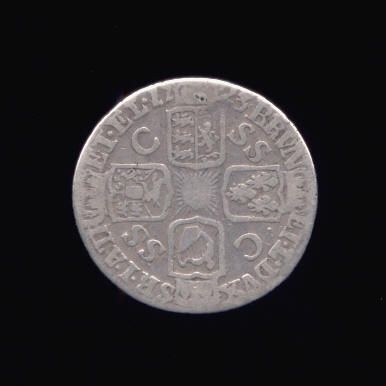 Silver Sixpence of George I