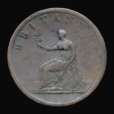 Base Halfpenny of George III