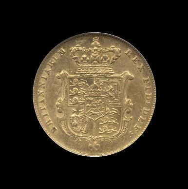Gold Sovereign of George IV