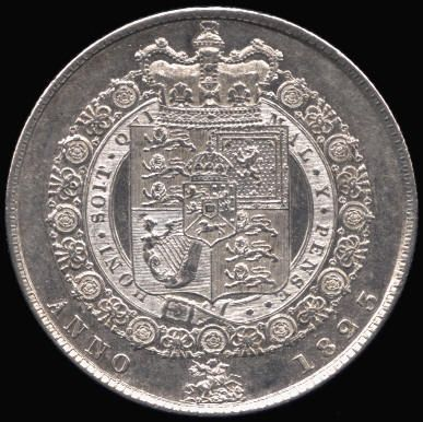 Silver Halfcrown of George IV