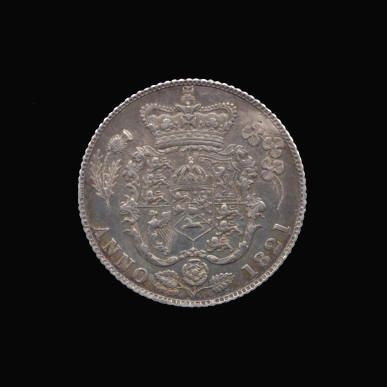Silver Sixpence of George IV