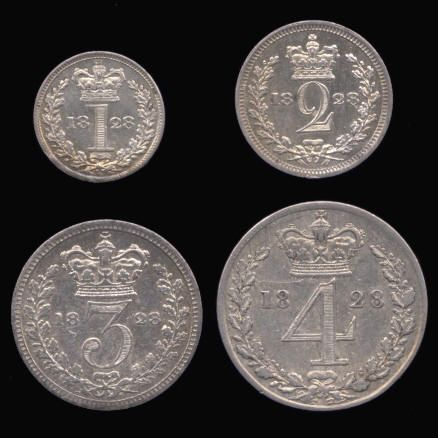 Silver Maundy Set of George IV