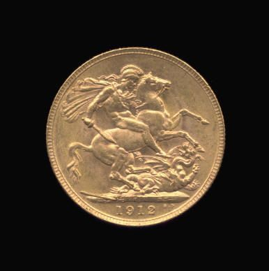 Gold Sovereign of George V
