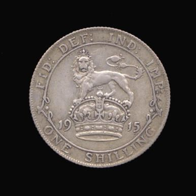 Silver Shilling of George V