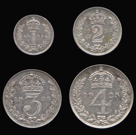 Silver Maundy Set of George V