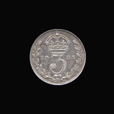 Silver Threepence of George V