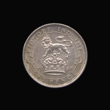 Silver Sixpence of George V