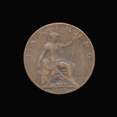 Base Farthing of George V