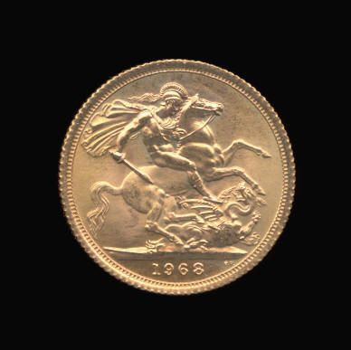 Gold Sovereign of Elizabeth II