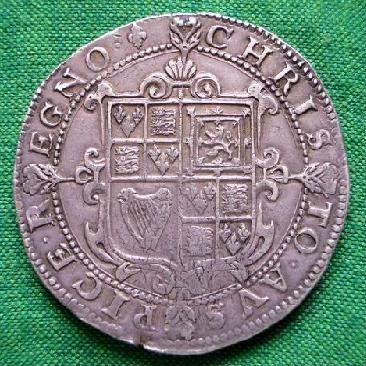 Silver Crown of Charles I