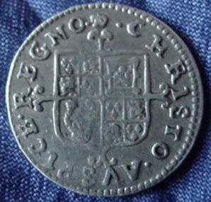 Silver Twopence of Charles II