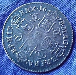 Silver Sixpence of Charles II