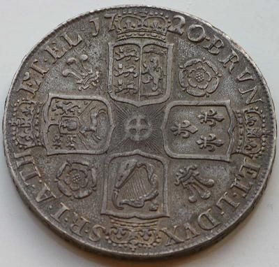 Silver Crown of George I