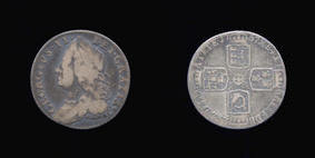 Silver Sixpence of George II
