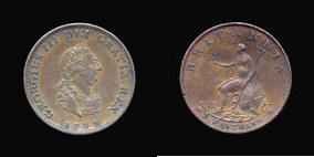 Farthing of George III