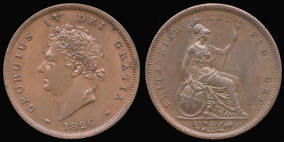 Penny of George IV