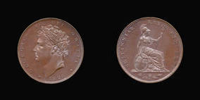 Farthing of George IV