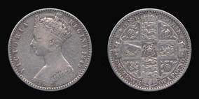 Florin of Victoria
