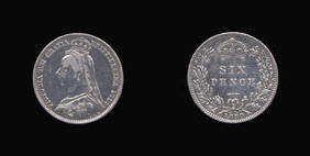 Sixpence of Victoria