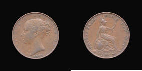 Base Farthing of Victoria