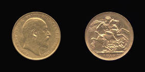 Gold Sovereign of Edward VII