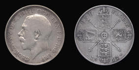 Silver Florin of George V