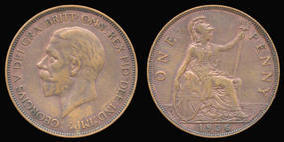 Penny of George V