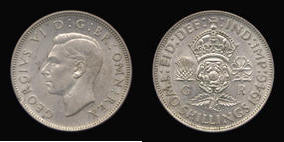 Silver Florin of George VI