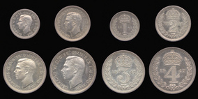 Silver Maundy Set of George VI