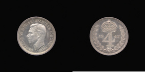 Fourpence of George VI