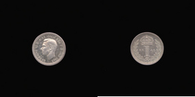Silver Penny of George VI