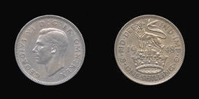Shilling of George VI