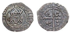 Silver Halfpenny of Henry VII