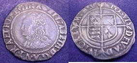 Silver Groat of Elizabeth I