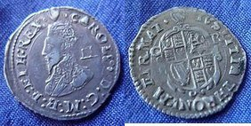 Silver Twopence of Charles I