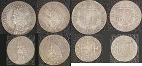 Silver Maundy Set of Charles II