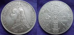 Double-florin of Victoria