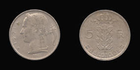 Copper-Nickel 5 Francs of