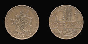 Nickel-Brass 10 Francs of