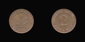 Bronze 2 Pfennig of
