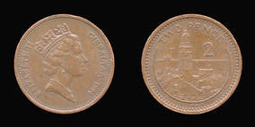Bronze 2 Pence of