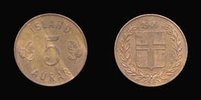 Bronze 5 Aurar of