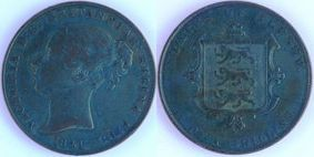 Copper 1/13 Shilling of