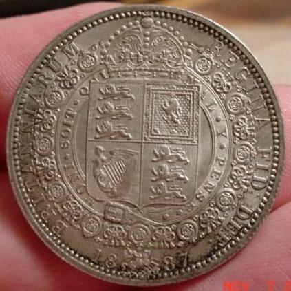 S3924 Halfcrown Coin of Victoria - TreasureRealm